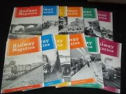 1961 The Railway Magazine Lot Of 12 Issues - Complete Year Of Trains - Gg 1219