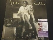 Aretha Franklin Signed Love Hurt All The Way Vinyl Album Cover Jsa Authenticated