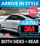 Precut Window Tint W/ 3m Color Stable For Lexus Is 300 16-20