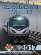 Bachmann And Williams 2017 N Ho O G Scale Catalog New Free Shipping