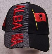 Embroidered Baseball Cap International Albania New 1 Hat Size Fits All