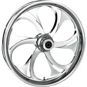 Rc Components Recoil Chrome 23x3.75 Front Wheel Single Disc 23750-9032a-105