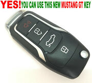 Key And Remote Combine Flip Fob For 01-04 Ford Escape Tribute Chip Alarm Beeper D1