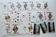 Vintage Deck Of Piatnik Austrian Playing Cards W/ European Royalty And Nobles