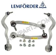 For Bmw E60 Front Lower Rearward And Foward Control Arms+ball Joint And Bushings Oem