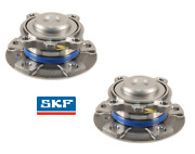 For Bmw F22 F30 435i Front Pair Set Of 2 Axle Bearings W/ Wheel Hub Assembly Skf