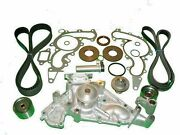 Timing Belt Kit Toyota 4runner 2003 2004 V8 Complete With Water Pump Tensioners