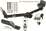 Complete Trailer Hitch Package W/ Wiring Kit For 2003-2004 Lincoln Aviator Reese