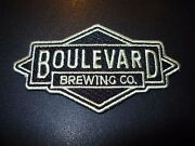 Boulevard Brewing Co Logo Tank 7 6th Glass Patch Label Craft Beer Brewery