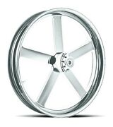 Dna Victory Chrome Forged Billet 18 X 10.5 Rear Harley 280-300 Tire