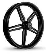 Dna Icon Gloss Black Forged Billet 30x 4 Front Wheel Harley Custom