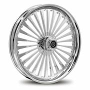 Dna Ss2 Chrome Forged Billet 16x3.5 Rear Wheel Harley Dyna Sportster Softail