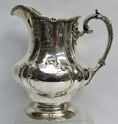Fabulous Vintage Gorham Sterling Silver Water Pitcher A1541