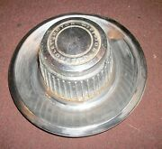 1960and039s 1970and039s Chevrolet Center Hub Cap Used Condition Good For A Spare