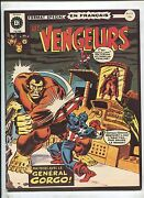 The Avengers 15 When The General Commands 7.5 1973 French Comic Wide Format