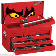 Teng Tools Amazing 140pce Toolkit Red 6 Drawer Toolbox Top Box Tool Chest