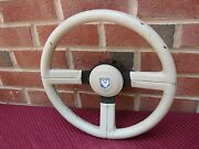 84 Pontiac Firebird Trans Am 15th Anniversary Leather Wrapped Steering Wheel