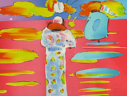 Peter Max Monk And The Red Sea Make Offer Dsstd