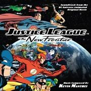 Justice League The New Frontier Animated Movie Soundtrack Cd 2008 New Sealed