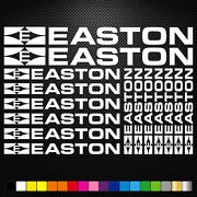 Fits Easton Vinyl Stickers Sheet Bike Frame Cycle Cycling Bicycle Mtb Road
