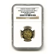 Mexico World Cup Soccer 250 Pesos 1985 Gold Proof Ngc Pf 68 Ultra Cameo Km 506.2