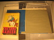The Lone Ranger Colorform Cartoon Kit Original Artwork