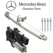 For Benz W210 E-series Rear Passenger Right Window Motor And Regulator And 4 Rivets