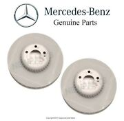 For Mercedes X253 C253 Glc300 W213 S213 Pair Set Of 2 Front Disc Brake Rotors