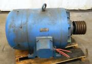 Delco, Ac Motor, Model B-2093, 40 Horse Power, 220/440 Volts, 60 Cycles