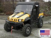 Cub Cadet Challenger Enclosure - Hard Windshield, Doors, Canopy And Rear Window