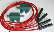 Kawasaki Zrx1100 3 Ohm Dyna Performance Ignition Coils And Taylor Leads.red