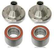 For Bmw E90 328i Z4 Set Of Rear Left And Right Wheel Hubs Drive Flange And Bearings