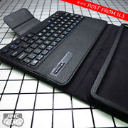 Bluetooth Keyboard Leather Book Case Cover For Samsung Sm-t825 Galaxy Tab S3 9.7