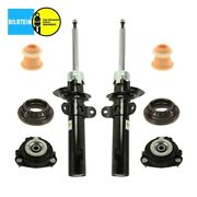 For Jaguar X-type 02-08 Set Of 2 Front Struts And Mounts Bump Stop And Bearings Oem
