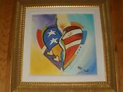 Alfred Gockel Glory Of Love 19 X 14 Giclee Print Canvas Artist Signed Proof