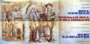 24sh Movie P Buffalo Bill And The Indians Paul Newman Great Giant West M Poster