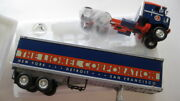 1953' Kenworth Bull-nose Coe Tractor With Trailer, Lionel 19-1833 Mib