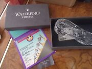 Waterford Crystal Limited Edition Cinderella's Slipper