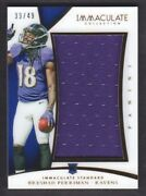2015 Immaculate Collection Standard Ist-bp Breshad Perriman Jersey /49 Ravens