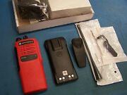 Motorola Ht750 Uhf 450-512mhz 4 Channel Aah25sdc9aa2an New Vfd Red Tested