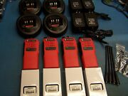 4 Motorola Ht750 Uhf 450-512 16 Channel Aah25sdc9aa3an Mint Condition Tested