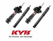 Kyb Excel-g Gr-2 Front And Rear Struts Shocks 2006-2011 Honda Civic Si Coupe