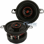 Cerwin-vega 60w Rms 3.5 Hed Series 2-way Coaxial Car Stereo Speakers | H735