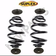 For Bmw E46 Set Of Rear Left And Right Heavy Duty Coil Spring W/ Shims Suplex