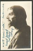 R Photo Marcel Journet French Opera Bass Orig Signed 1927 Pc