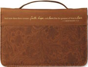 Faith, Hope, And Love Cover Large Bible Cover By Zondervan Publishing Brand New
