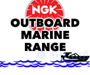 Ngk Spark Plug For Marine Outboard Engine Tomos 4.4hp Electronic 10 10e