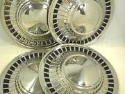 1961 Ford Hubcaps Wheel Covers Starliner Galaxie Fairlane