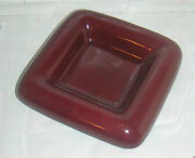 CERAMIC pottery DISH BROWN HAEGER 2176 Candle holder PLATE TABLE DECOR TRAY