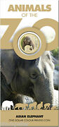 2012 Animals Of The Zoo - Elephant, 1 One Dollar Unc Coin, Ram